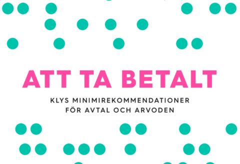 Att ta betalt - Rekomendationer från KLYS
